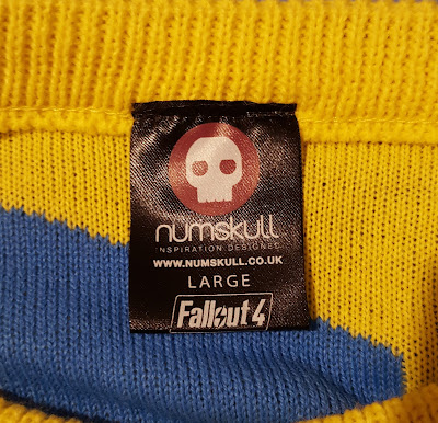 Review of Numskull Fallout 4 acrylic jumper