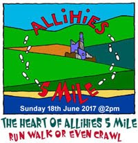 Heart of Allihies 5 Mile Run in West Cork...Sun 18th June 2017