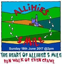 Heart of Allihies 5 Mile Run in West Cork...Sun 18th June 2017