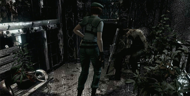 Resident Evil HD Screenshots