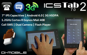 New Tablet ICS Call SMS 3G Anti Galau