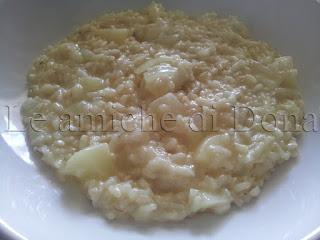 progetto gusto: italian food shop e il risotto con maccagno basilichito e pere