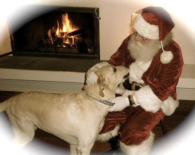 Steve and Santa