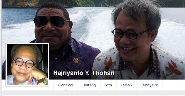 Facebook  Hajriyanto Thohari