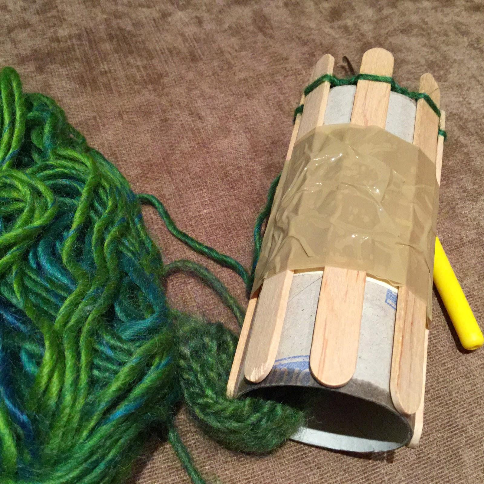 Annies diy upcycling strickliesel aus karton und for Strickliesel basteln