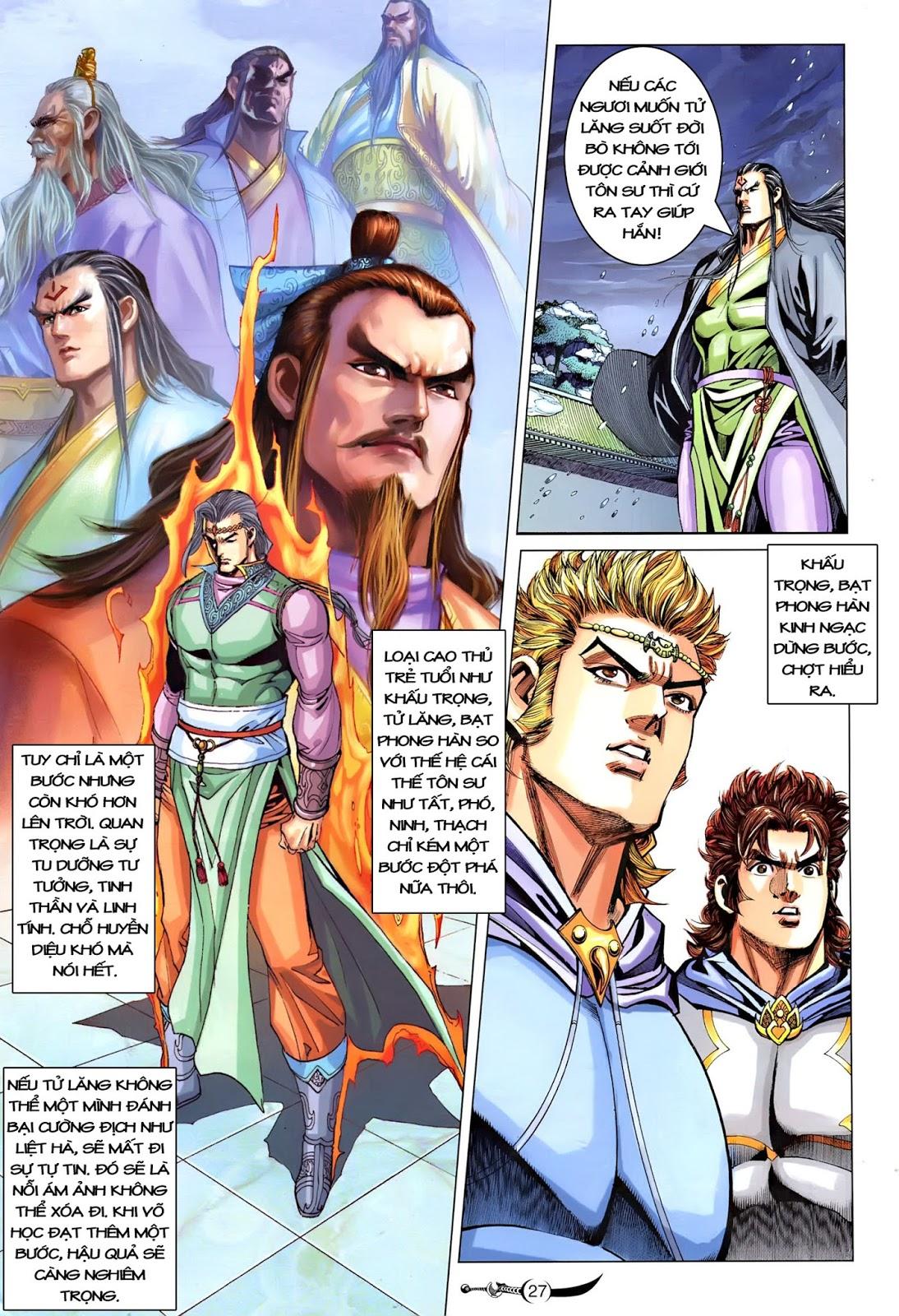Đại Đường Song Long Truyện chap 218 - Trang 29