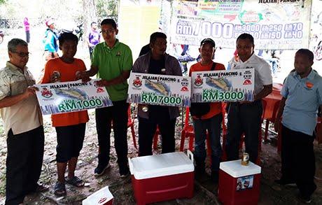 Wajah Pemenang Utama Jelajah Pancing KL di Taman Tasik Permaisuri 19 Mac 2017