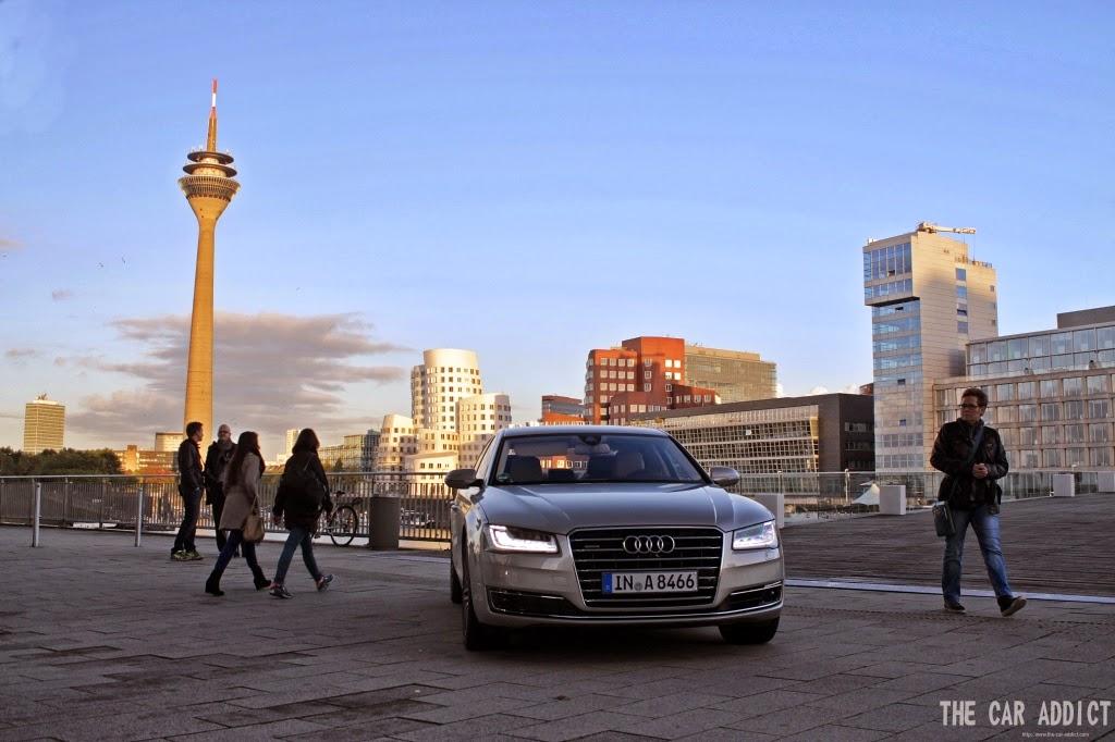 Audi A8 4.0 TFSI (Cuvée Silver)