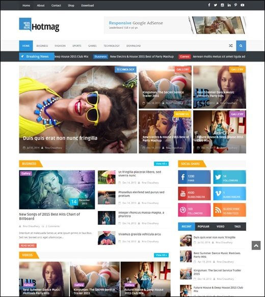 Best Blogger Themes | Professional Blogspot Templates