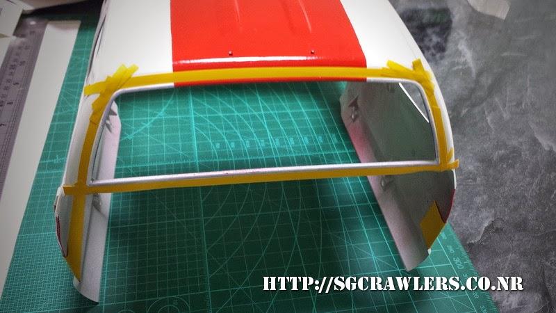 tamiya - Boolean21's Tamiya Highlift Tundra - new paint scheme - Ivan Stewart Toyota Theme 20140802_084116