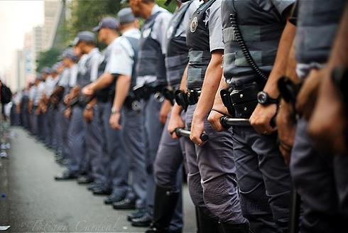 POLÍCIA MILITAR: Treinamento bélico, violência sistemática
