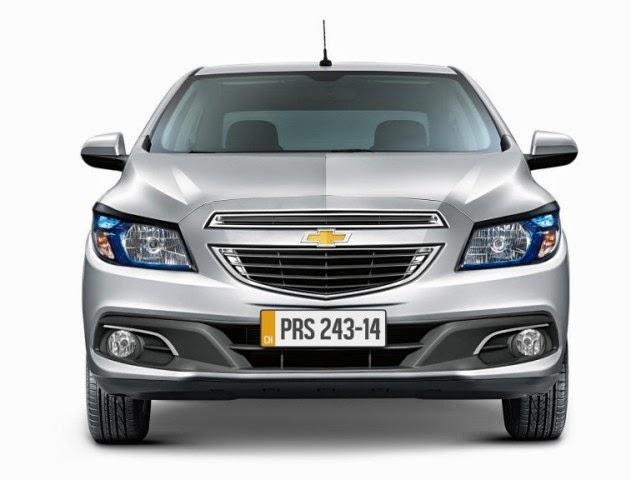 Novo Chevrolet Prisma 2014 fotos