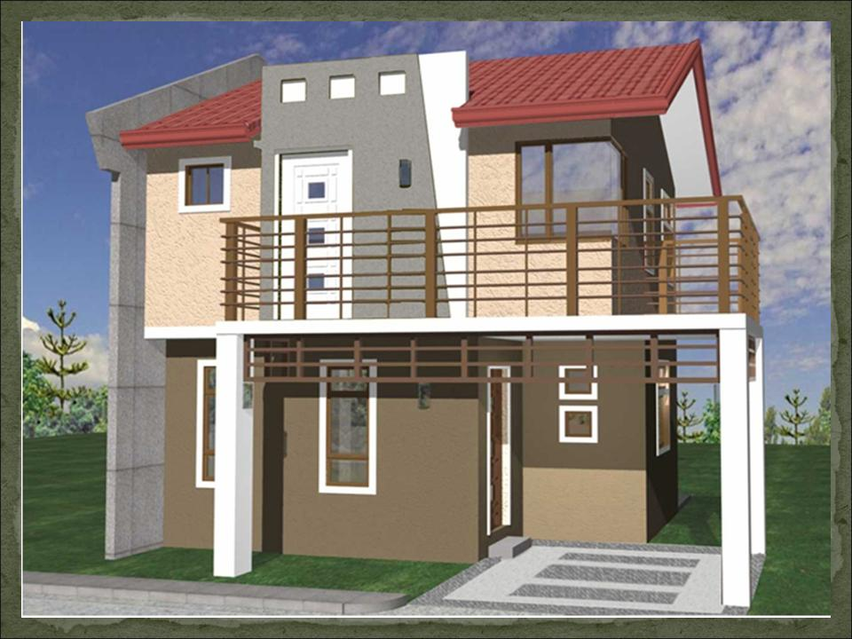 2 story house plans with balcony philippines joy studio for Small house plans philippines
