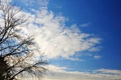 Wolkenfächer...
