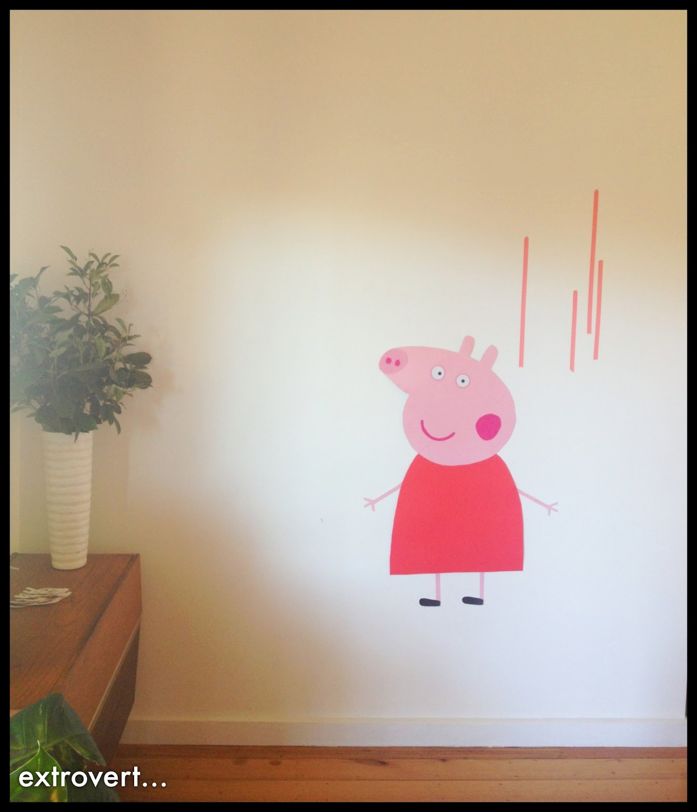 apprentice extrovert Peppa Pig Party