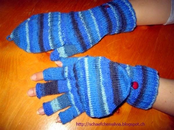 Schäfchen Silvia Ich Will Mir Wieder Mal Handschuhe Mit Kappen Stricken