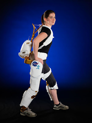 Exoskeleton suite made by NASA for paralyzed people