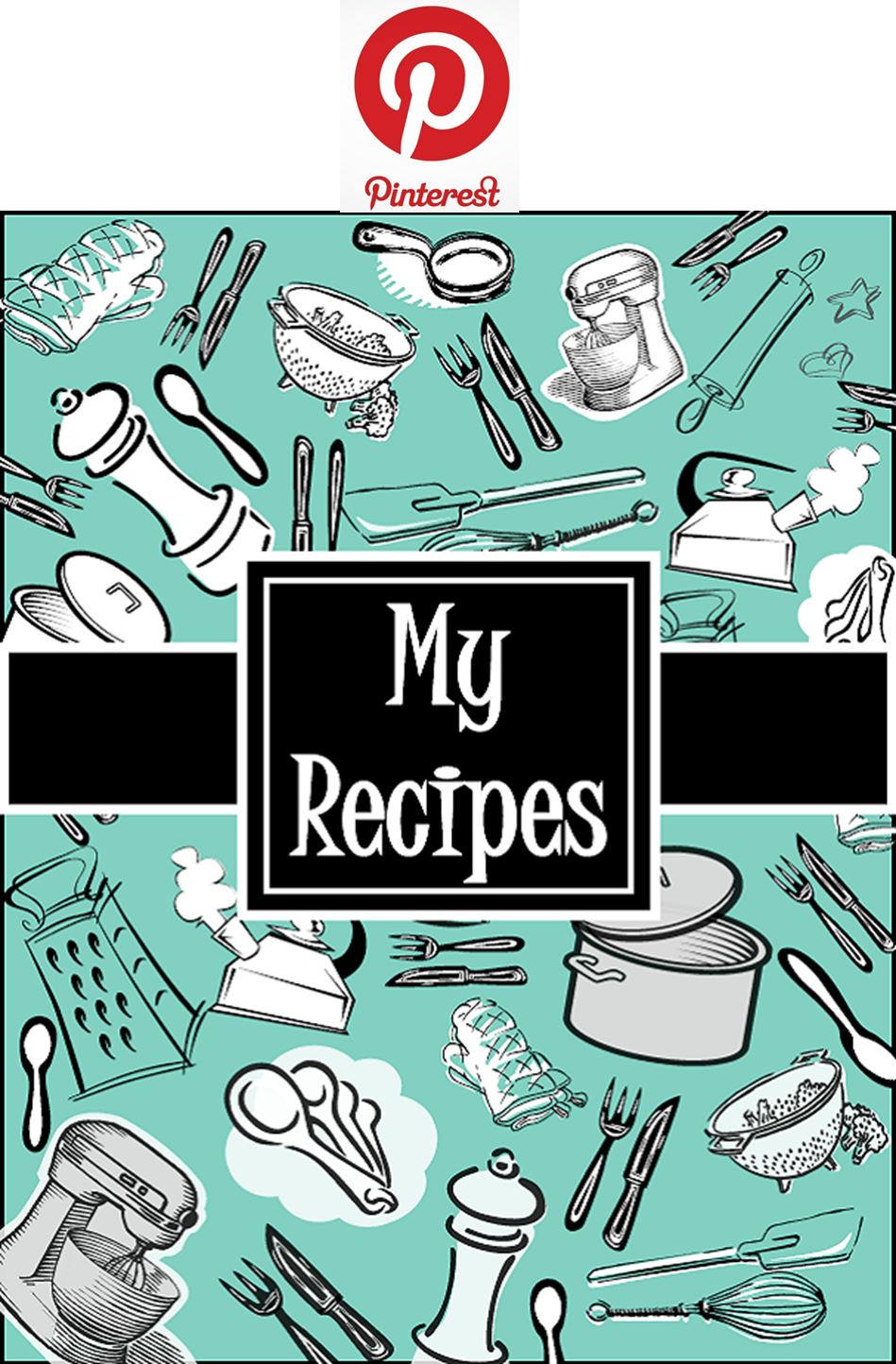 Impeccable image intended for recipe book cover printable