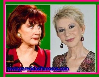 Karmele Marchante antes y después