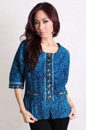 Model baju batik Supranaturaljokowi.com