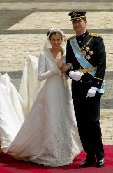 Prince Felipe of Spain and Princess Letizia Princess Victoria of Sweden