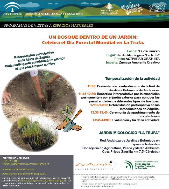 Grupo cultural c rdoba dia forestal mundial for Jardin micologico la trufa
