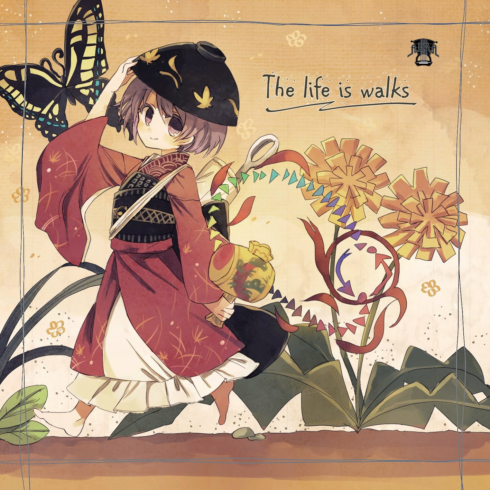 The life is walks