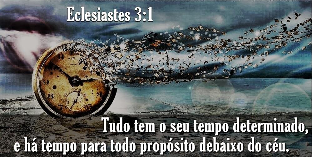 Well-known Palavra Eficaz : Há um tempo certo-Eclesiastes 3:17 BW66