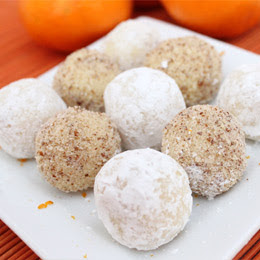 White Chocolate and Orange Truffles