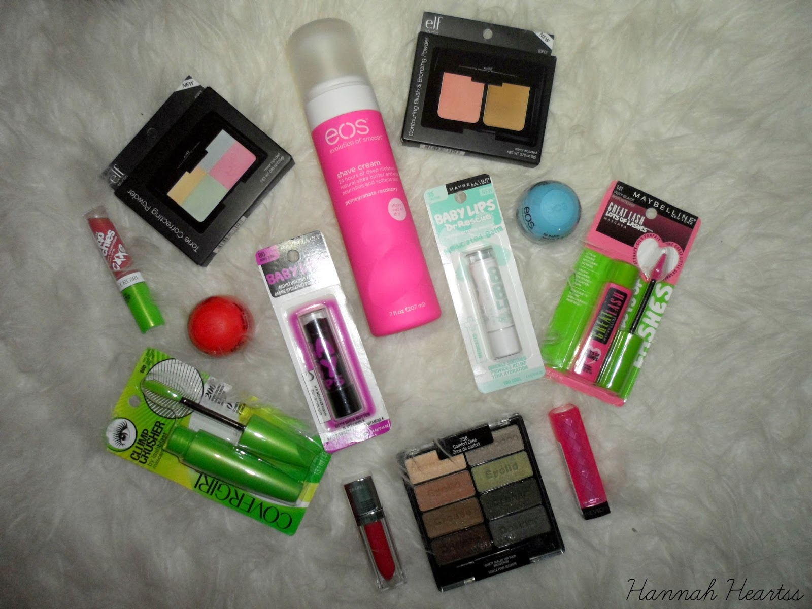 USA Beauty Swap Haul 2014