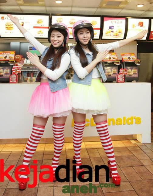 Uniknya Pelayan McDonald Di Taiwan Cina