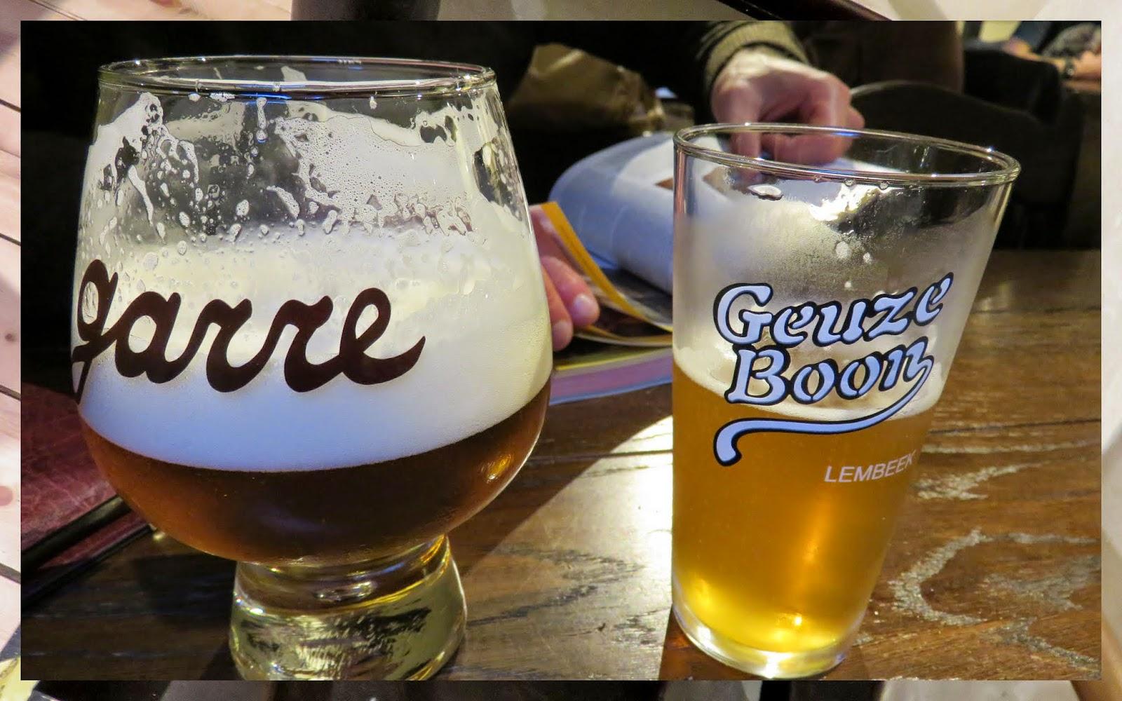 de Garre bier in Bruges