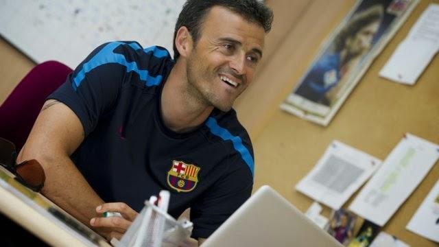 رسميا : مدرب برشلونة الجديد هو لويس انريكي