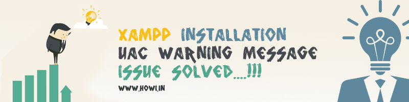 Xampp Installation UAC Problem Where Solved