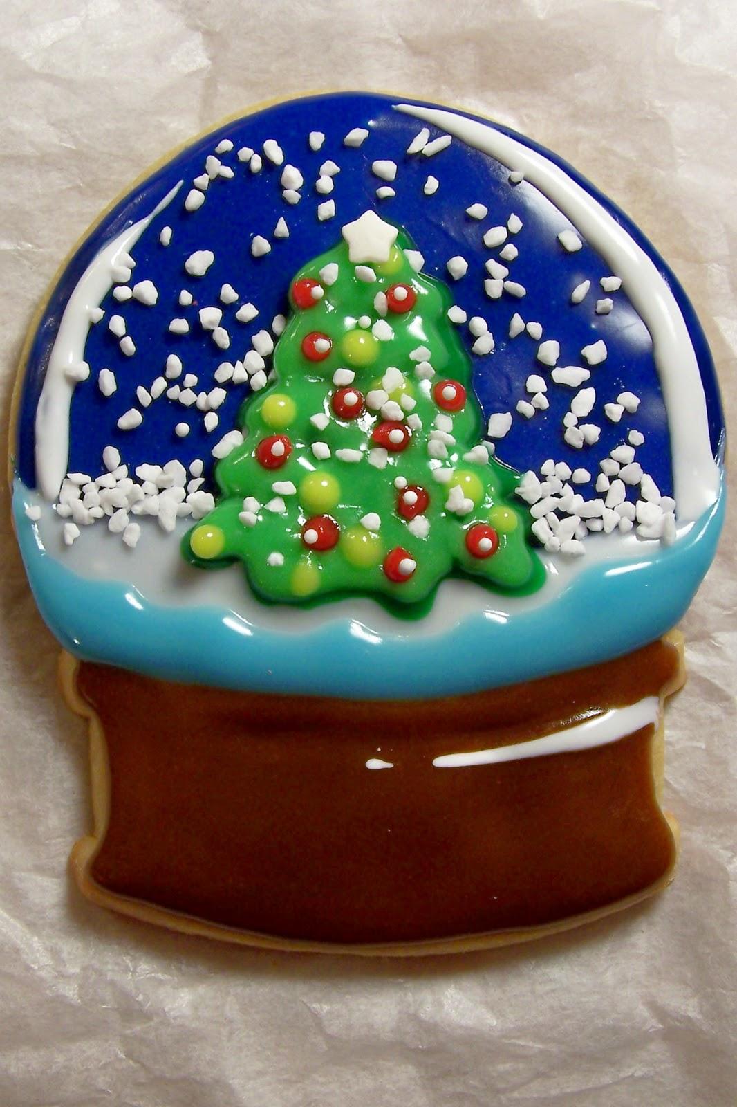 oven lovin u0026 39   snow globe cookie