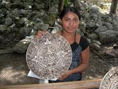 An Aztec Sun Calander!