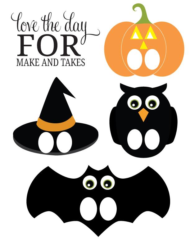 Marionetas de dedos para Halloween. Descarga el pdf gratis : Baby-Deco