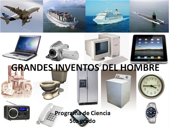 Grandes Inventos del Hombre