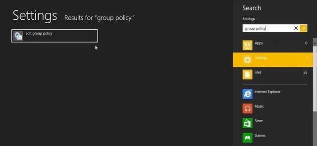 Tips Mematikan Fitur Password Gambar Pada Windows 8