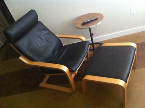 chair and ottoman 130