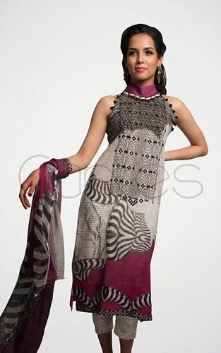 Pasho Eid Collection 2014 Shirts Capri Pants