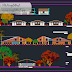 مشروع مجموعة منازل سكنية مع التهيئة اوتوكاد dwg