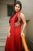 Ziya Khan Glamorous Photos in Red-thumbnail-14