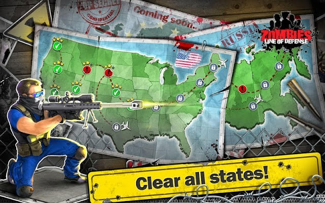 Zombies : Line of Defense - TD V1.3 Apk + Data Screenshot