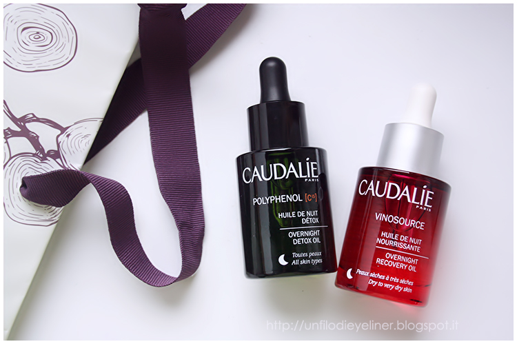 Caudalie- Huile de Nuit: Polyphenol C15 & Vinosouce