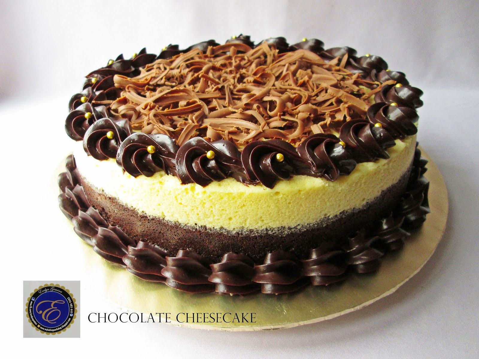 Chocolate Cheesecake / 1.2kg