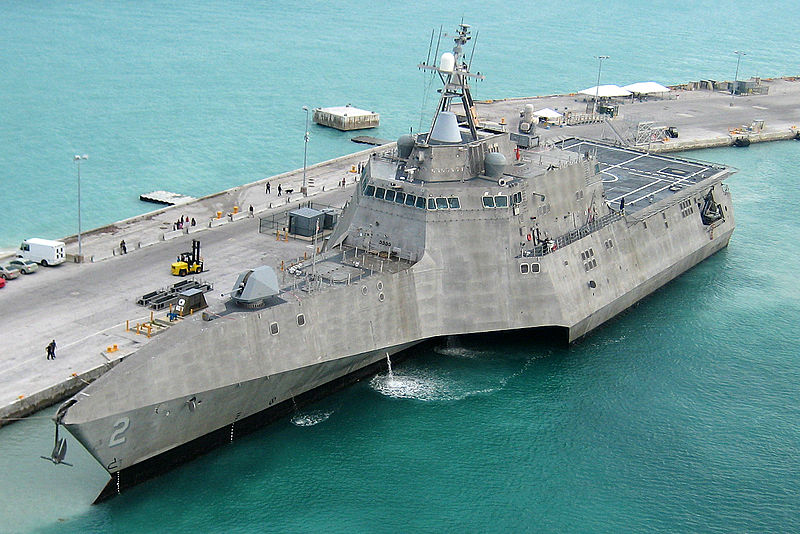 The Independence -class LCS. Austal is offering a small cheaper