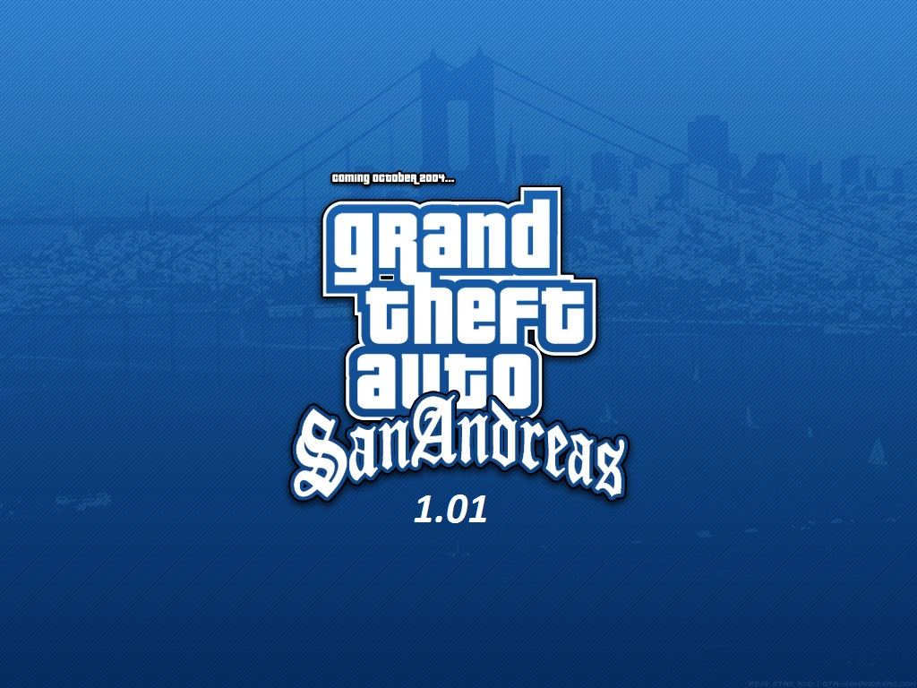 Game Fix / Crack: Grand Theft Auto: San Andreas v101