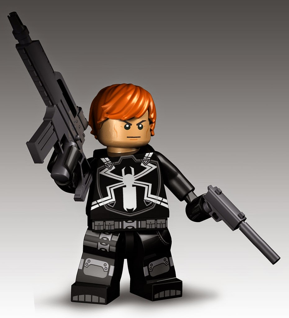 LEGO Agent Venom figure