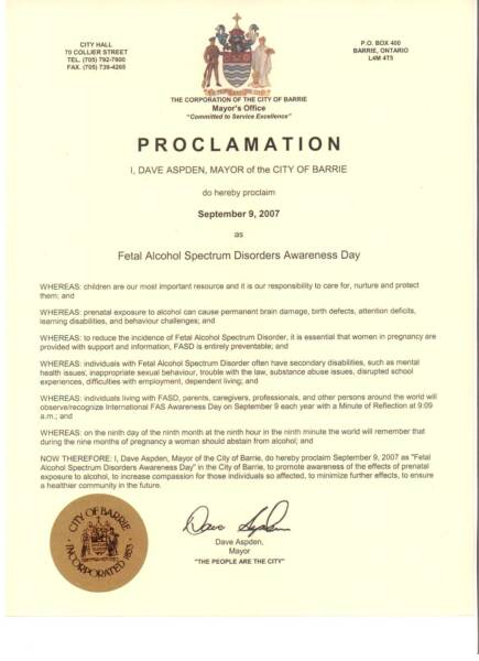 Live Abilities: #50 Days To FASDay - Get a proclamation